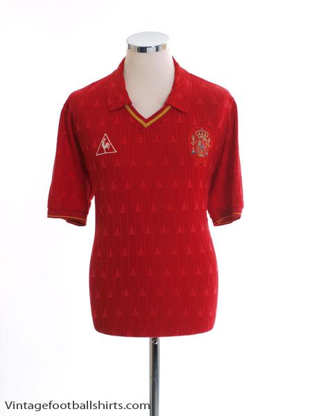 1988-92 Spain Home Shirt M