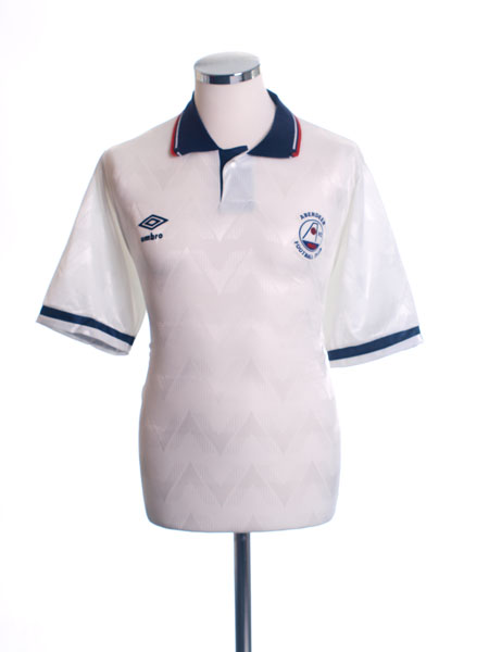 1989-90 Aberdeen Away Shirt *Mint* M