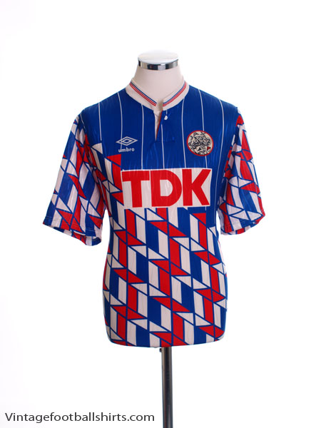 1989-90 Ajax Away Shirt M