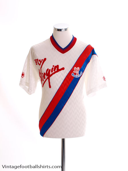 1989-90 Crystal Palace Away Shirt M