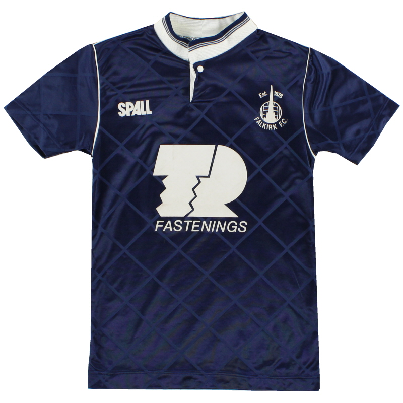 1989-90 Falkirk Home Shirt Y