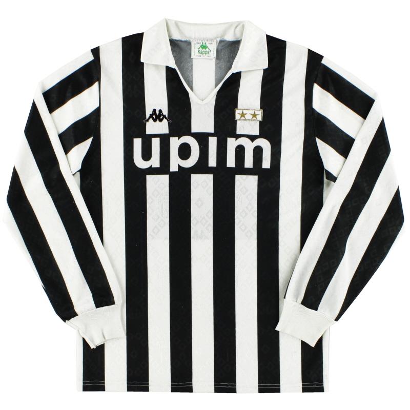 1989-90 Juventus Home Shirt L/S L