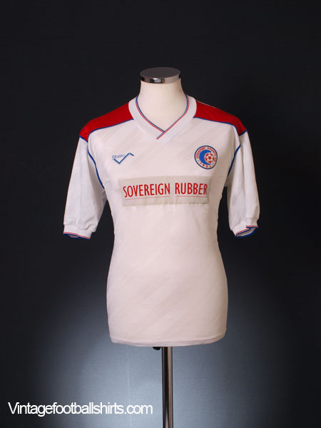 1989-90 Stockport County Home Shirt L