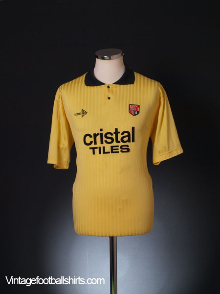 1989-90 Stoke City Away Shirt L