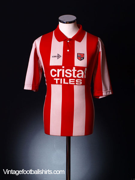 1989-90 Stoke City Home Shirt XL