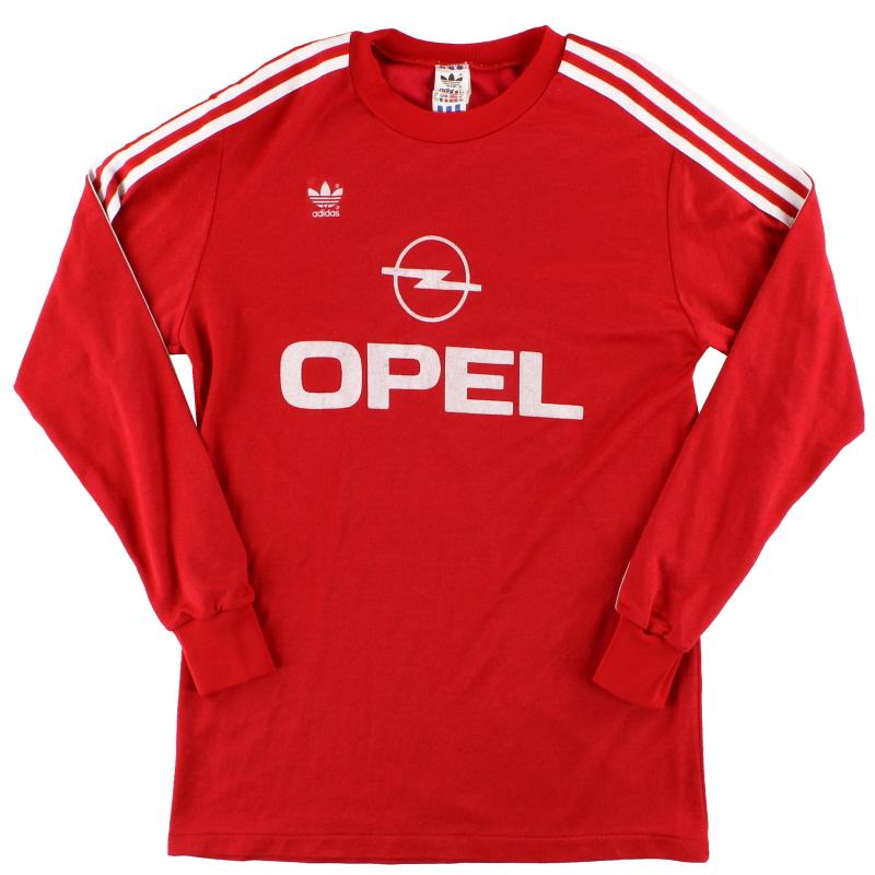 1989-91 Bayern Munich adidas Home Shirt L/S M