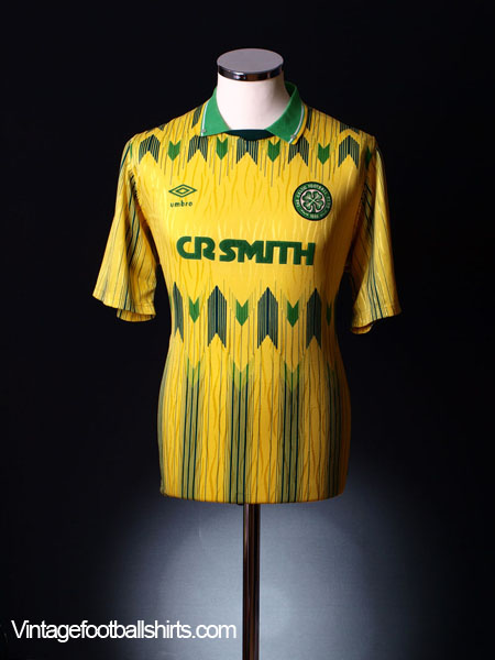 watch e37b4 a23af 1989-91 Celtic Away Shirt *Mint* L for sale