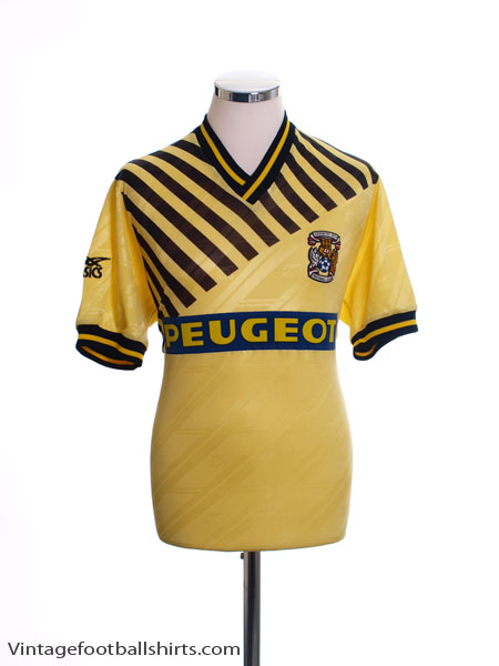 1989-91 Coventry Away Shirt L