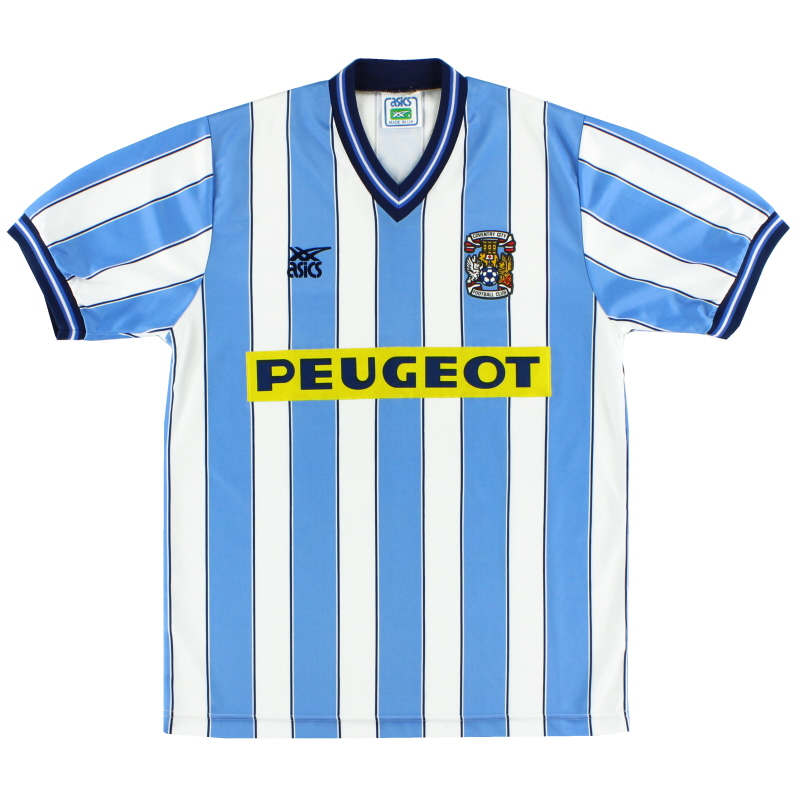 1989-91 Coventry Home Shirt L