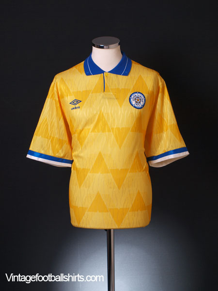1989-91 Leeds Away Shirt *BNWT* XL