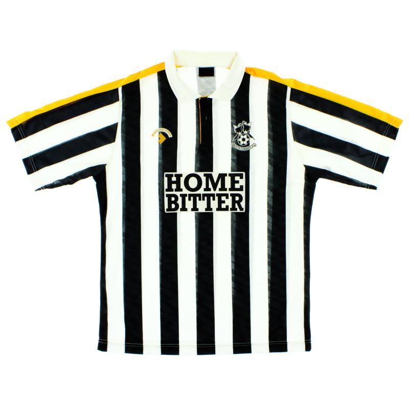 1989-91 Notts County Home Shirt L
