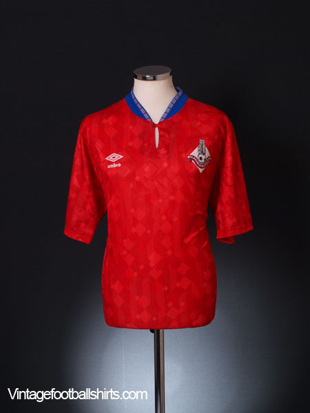 1989-91 Oldham Away Shirt XL