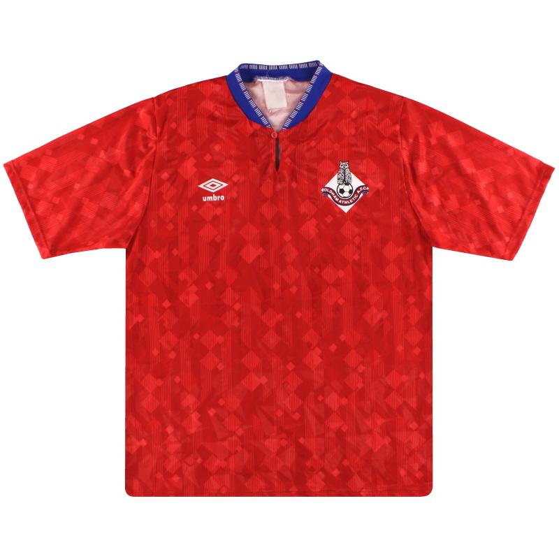 1989-91 Oldham Umbro Away Shirt XL