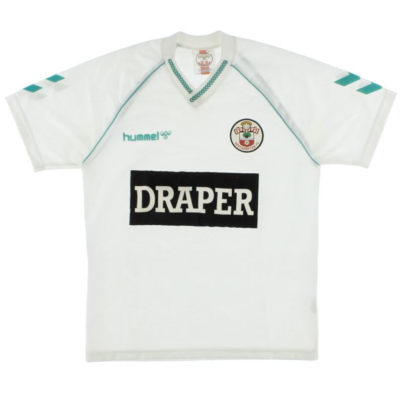 1989-91 Southampton Hummel Away Shirt L