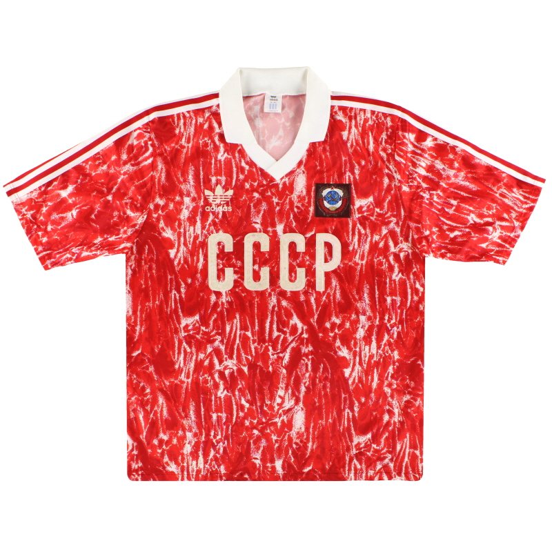 1989-91 Soviet Union adidas Home Shirt *Mint* M - 301084