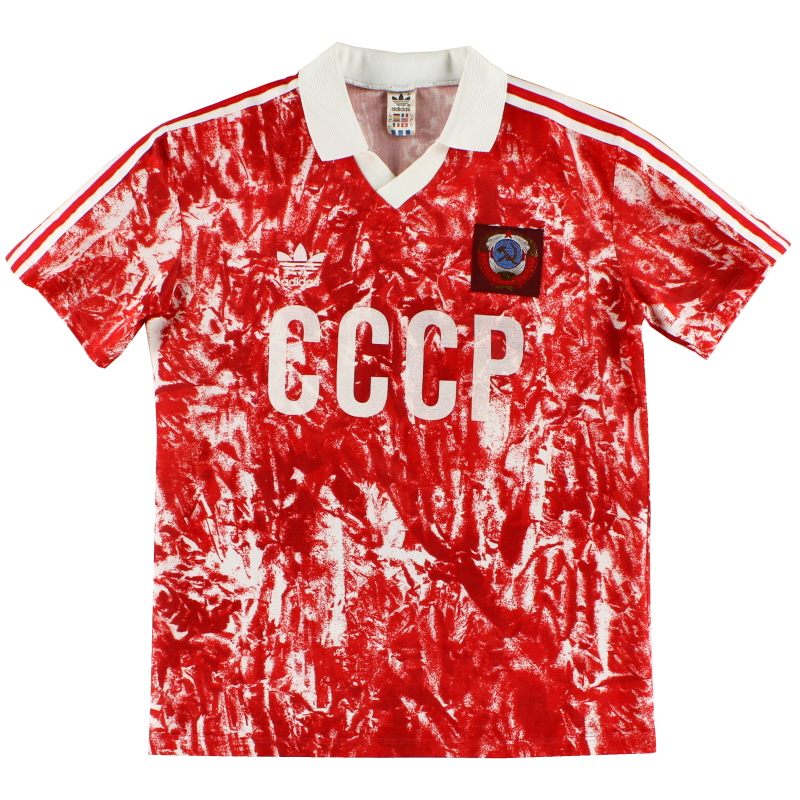 1989-91 Soviet Union Home Shirt M - 301084