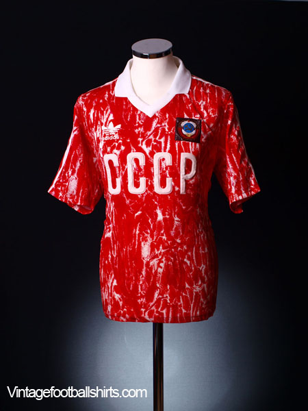 1989-91 Soviet Union Home Shirt S