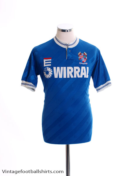 1989-91 Tranmere Rovers Third Shirt Y