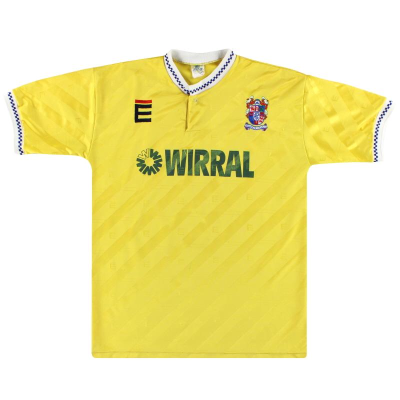 1989-91 Tranmere Rovers Third Shirt L