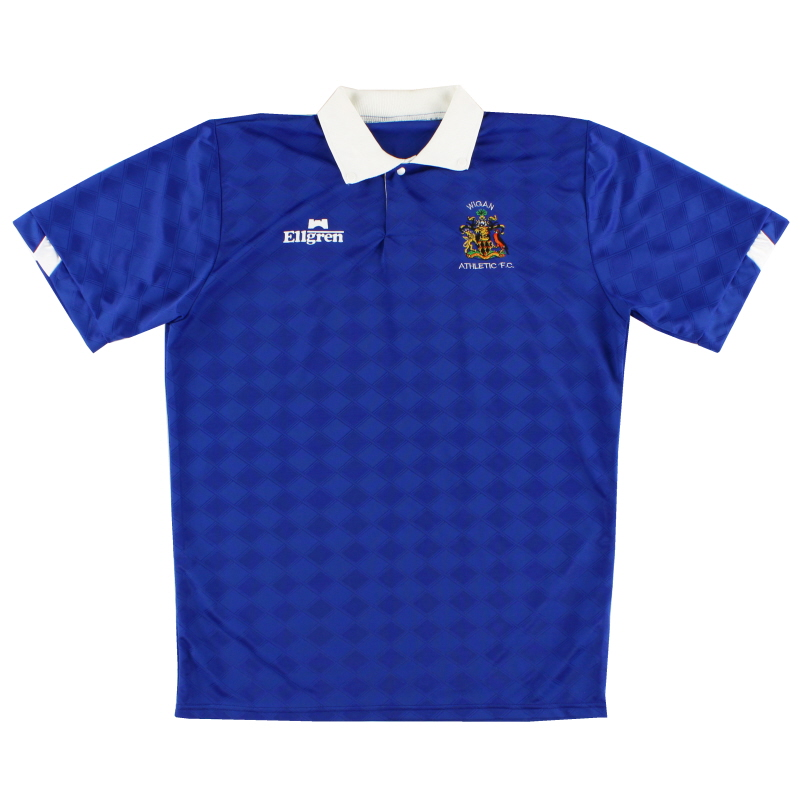1989-91 Wigan Home Shirt M