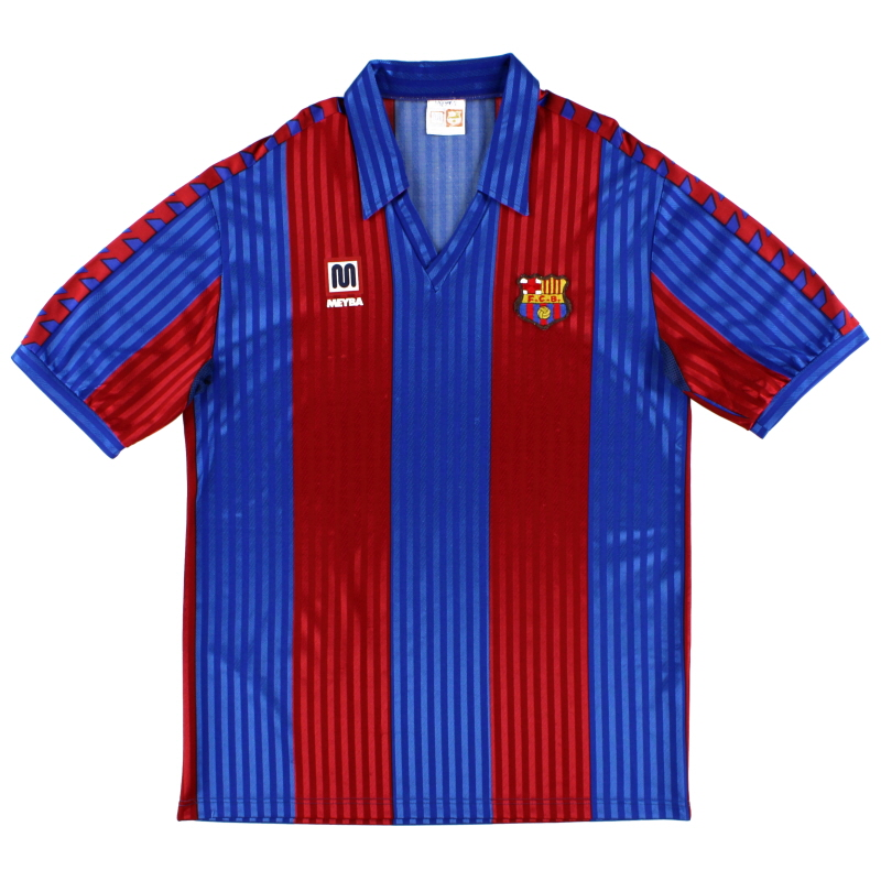 1989-92 Barcelona Home Shirt XL