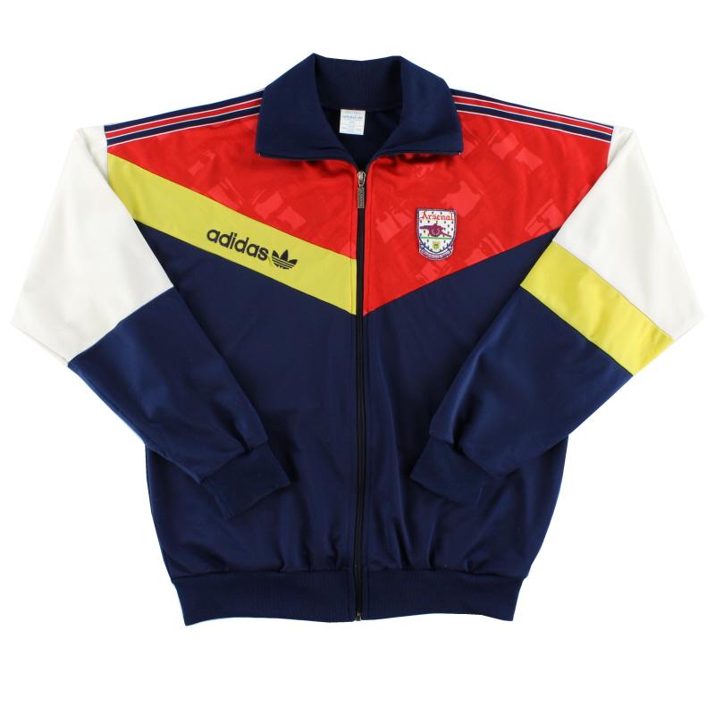 1990-91 Arsenal adidas Track Top L