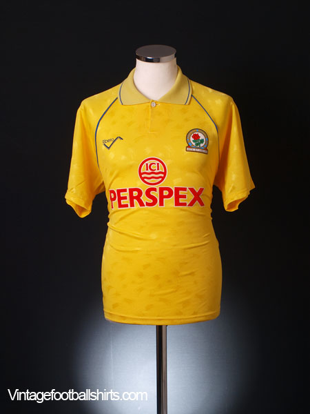 1990-91 Blackburn Away Shirt *Mint* M