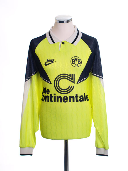 1990-91 Borussia Dortmund Home Shirt L/S XL