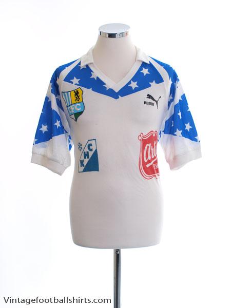 1990-91 Chemnitzer FC Away Shirt #7 L