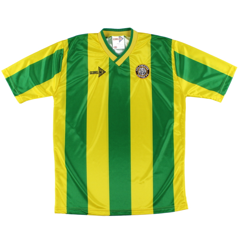 1990-91 Colchester Away Shirt *Mint* L