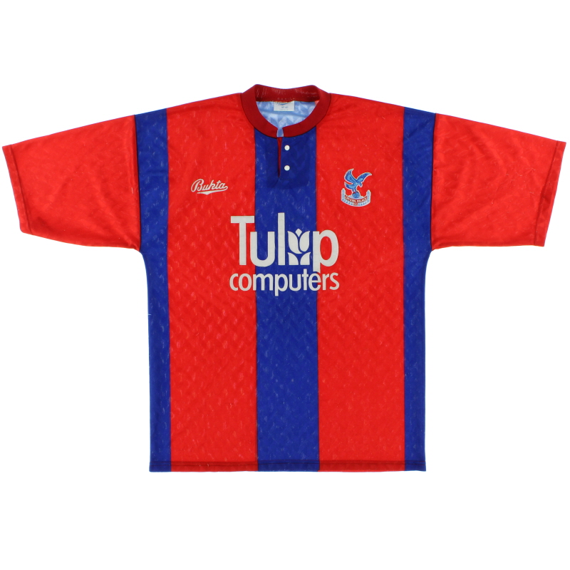 1990-91 Crystal Palace Home Shirt M