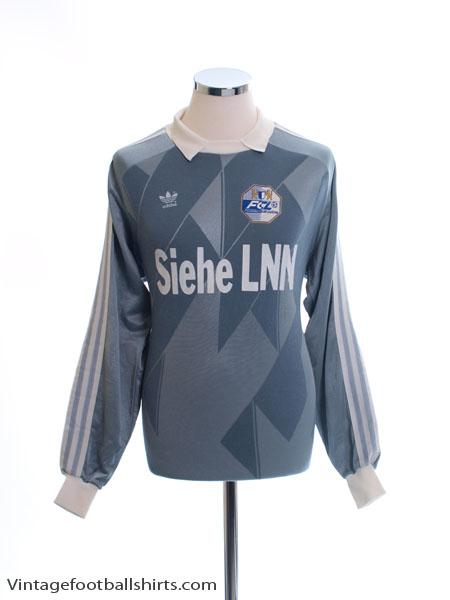 1990-91 FC Luzern Match Issue Goalkeeper Shirt L
