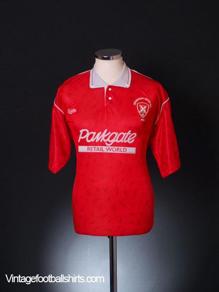 1990-91 Rotherham Home Shirt M