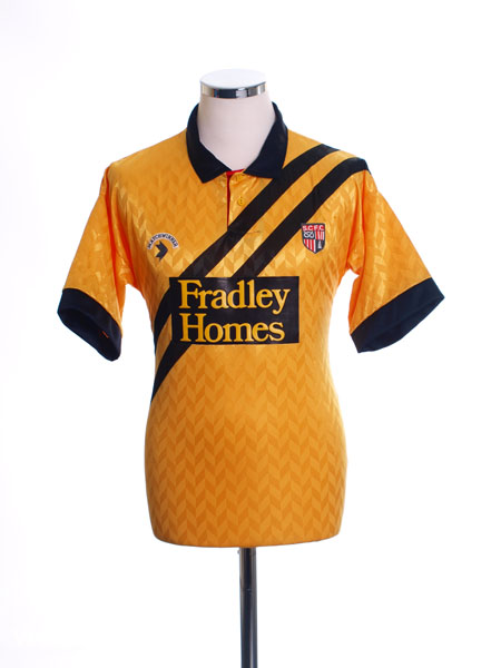 1990-91 Stoke City Away Shirt M