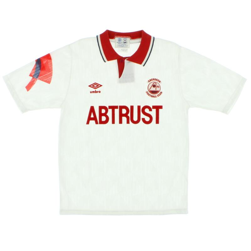 1990-92 Aberdeen Away Shirt *As New* S