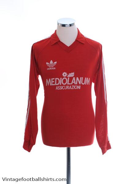 1990-92 AC Milan adidas Training Shirt L/S M