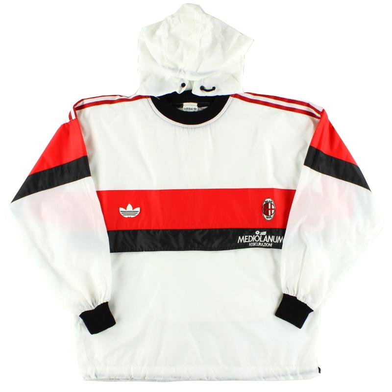 1990-92 AC Milan adidas Waterproof Training Top M