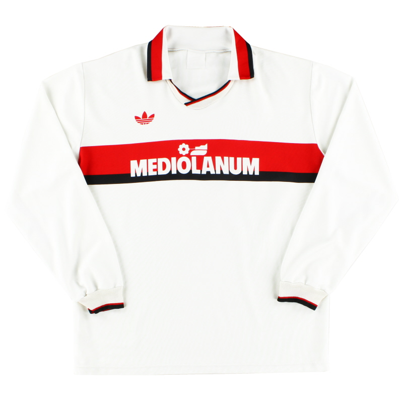 1990-92 AC Milan Away Shirt L/S XL