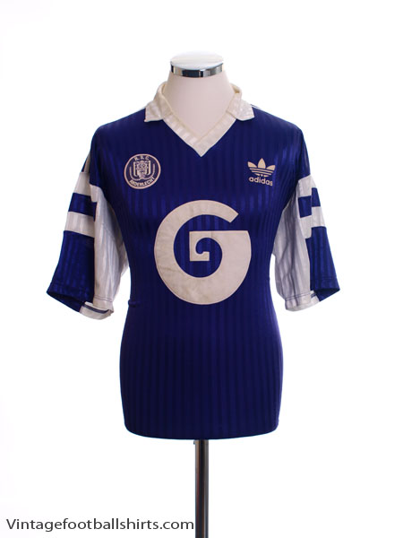 1990-92 Anderlecht Away Shirt L