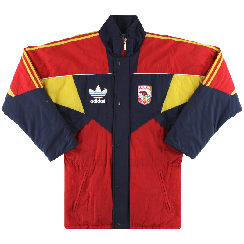 1990-92 Arsenal adidas Bench Coat S