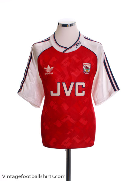 1990-92 Arsenal Home Shirt S