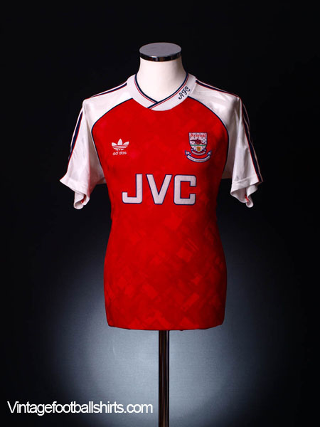 1990-92 Arsenal Home Shirt XL