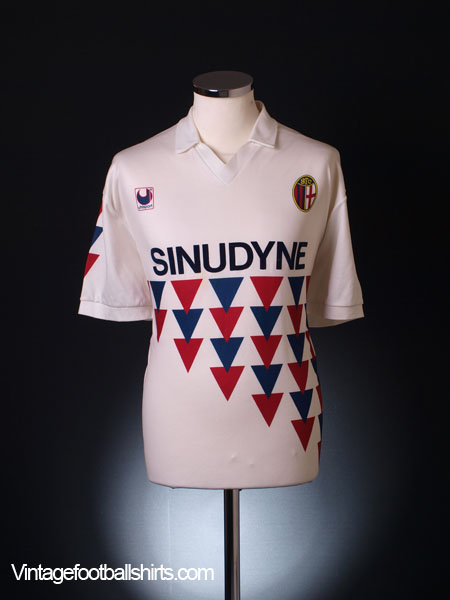 1990-92 Bologna Away Shirt XL