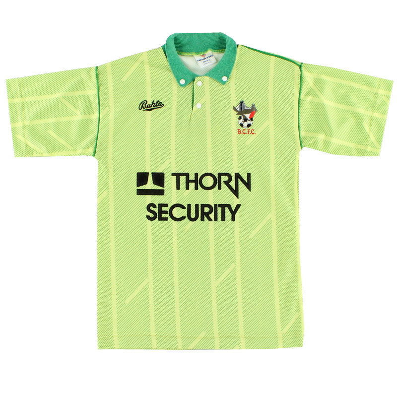 1990-92 Bristol City Away Shirt L.Boys