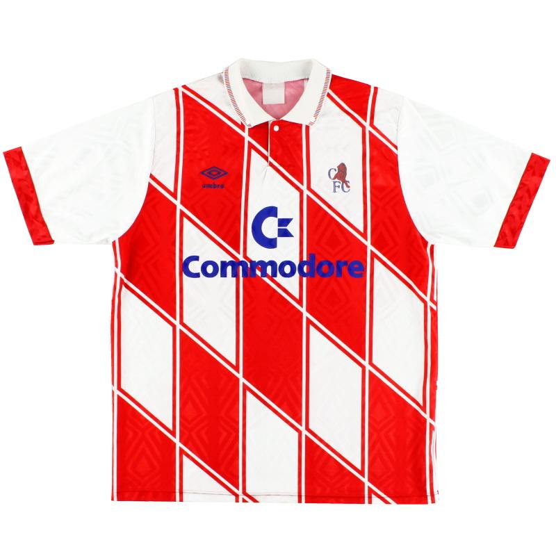 1990-92 Chelsea Away Shirt L