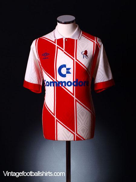 1990-92 Chelsea Away Shirt XL