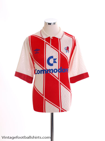 1990-92 Chelsea Away Shirt XL