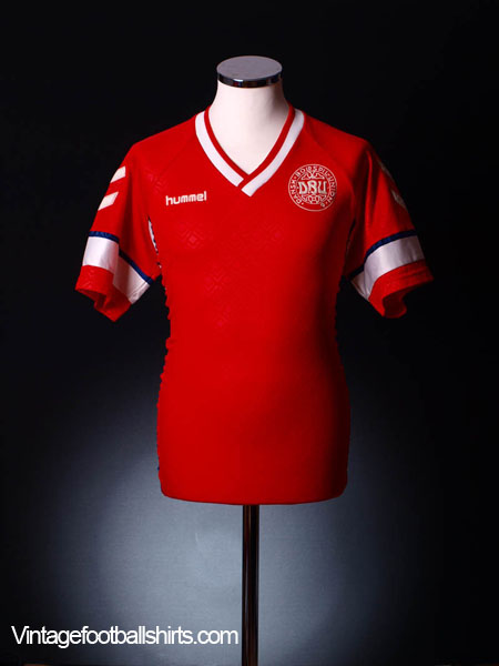 1990-92 Denmark Home Shirt XL