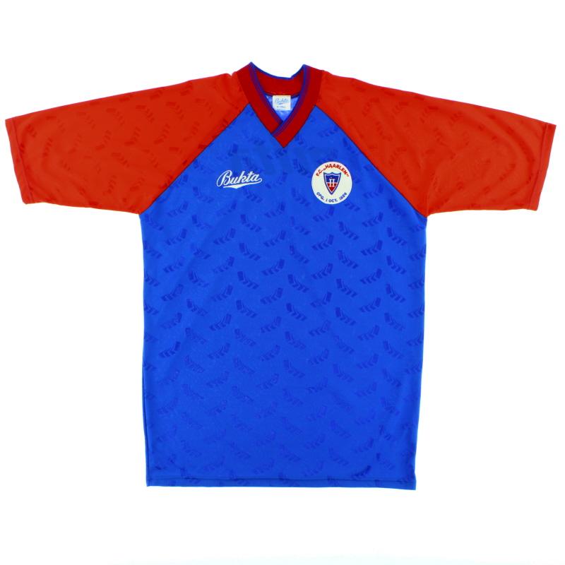 1990-92 FC Haarlem Home Shirt *Mint* L