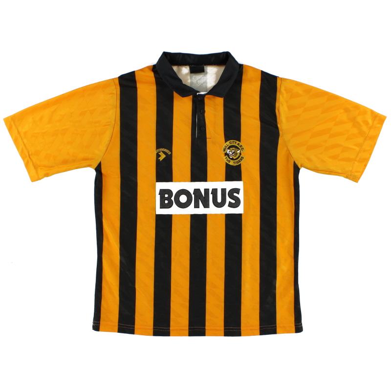 1990-92 Hull City Home Shirt L